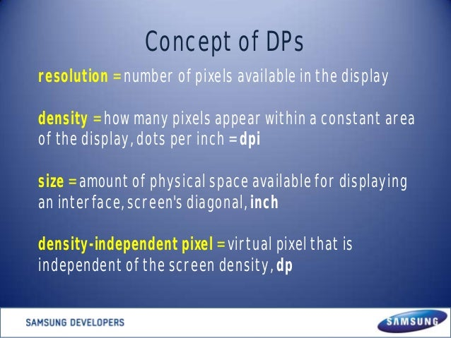 Developing and Designing Multiscreen Android apps Slide 3