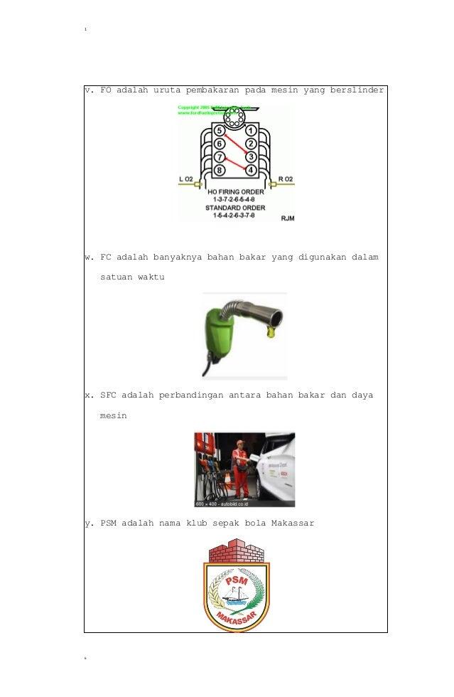Soal Dan Jawaban No 1 Tugas Pendahuluan Motor Bensin Teknik Mesin