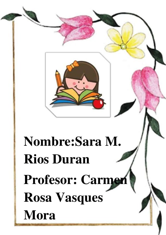 Nombre:Sara M. Rios Duran Profesor: Carmen Rosa Vasques Mora