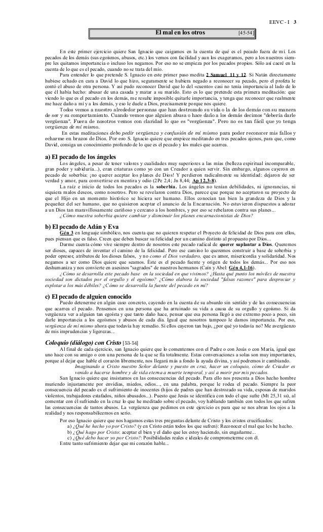 José Luis Caravias. Ejercicios espirituales en la vida corriente para laicos 1. Pecado Slide 3