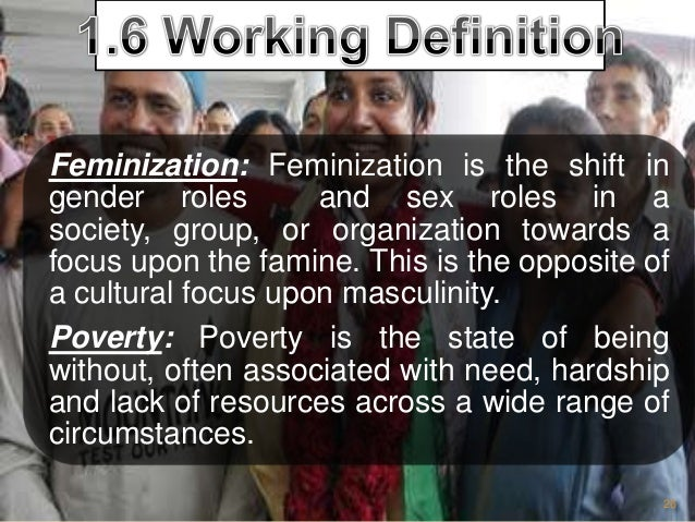 feminization of poverty causes consequences recommendations a st chapter 27 27