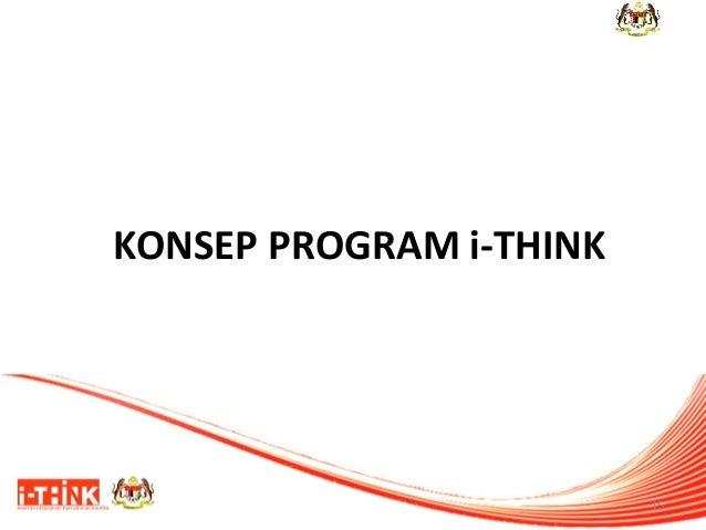 KONSEP PROGRAM i-THINK  15