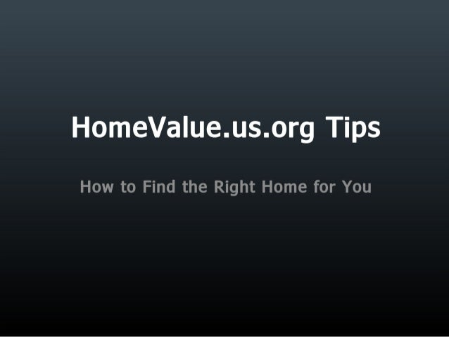 HomeValue.us.org Helps You Find the Right Property