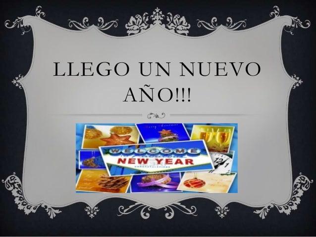 LLEGO UN NUEVO AÑO!!!