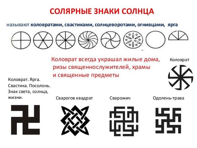 символы и знаки урок№ 5 СОЛЯРНЫЕ ЗНАКИ
