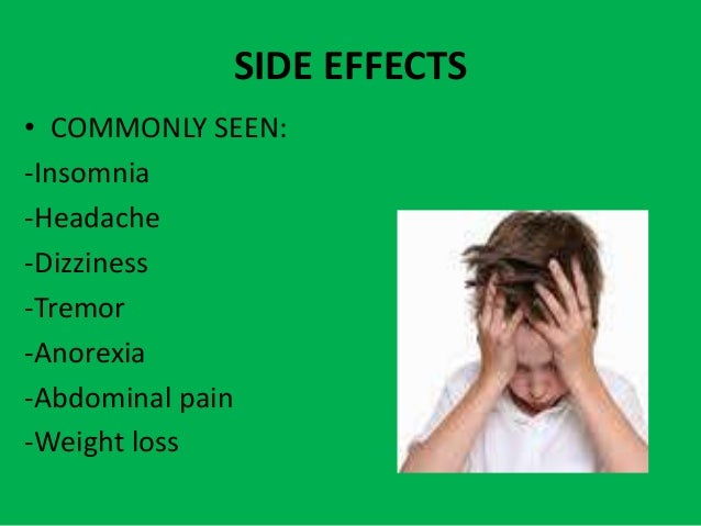 Strattera Bad Side Effects