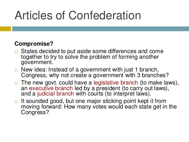 making legal guidelines according to your articles or blog posts of confederation
