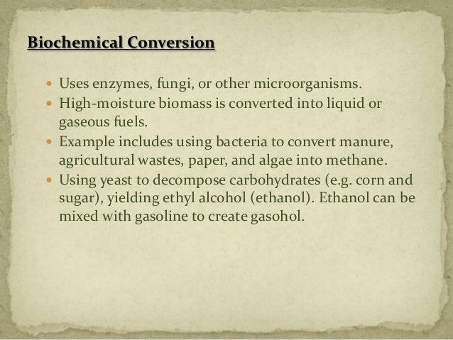 Biomass Bioconversion To Mixed Alcohol Fuels ~ World energy