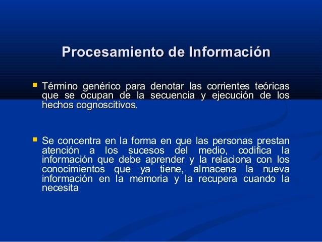 1.10 procesamiento de información Slide 2