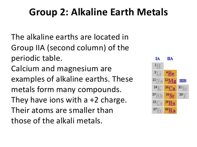 11 periodic table 23 group 2 alkaline earth metals urtaz Choice Image