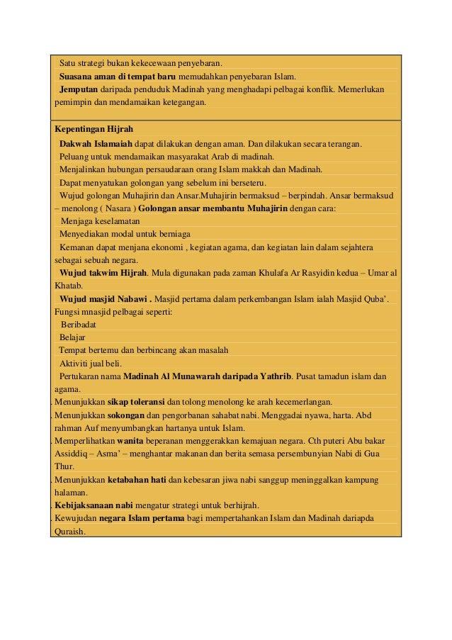 Kertas 3 Sejarah Jawapan Bab 5 Ting 4 Piagam Madinah