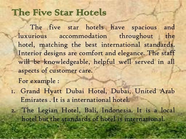 International Standard Hotel (Grand Hyatt Dubai, The Legian Bali) Slide 2
