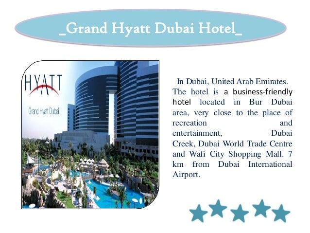 International Standard Hotel (Grand Hyatt Dubai, The Legian Bali) Slide 3