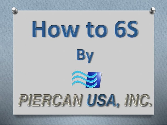 """What is 6S? The """"S"""" Methodology 5S is the name of a workplace organization method that uses a list of five Japanese words:..."""
