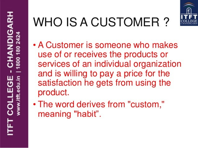 who is your customer Mark hunter describes the five different types of customers and how to turn more of them into the type of customer you want  increase your loyal customers to .