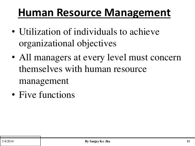 the emergence of human resource management The emerging challenges in hrm  human resource management training to further their abilities to motivate a group of professional that are highly.