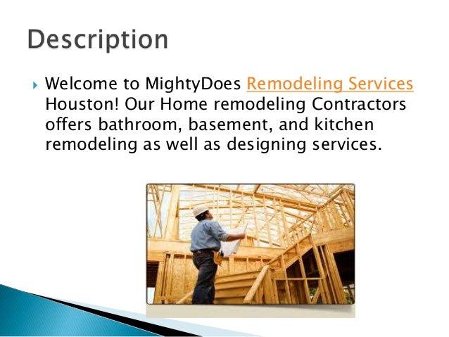 Remodeling services Slide 2
