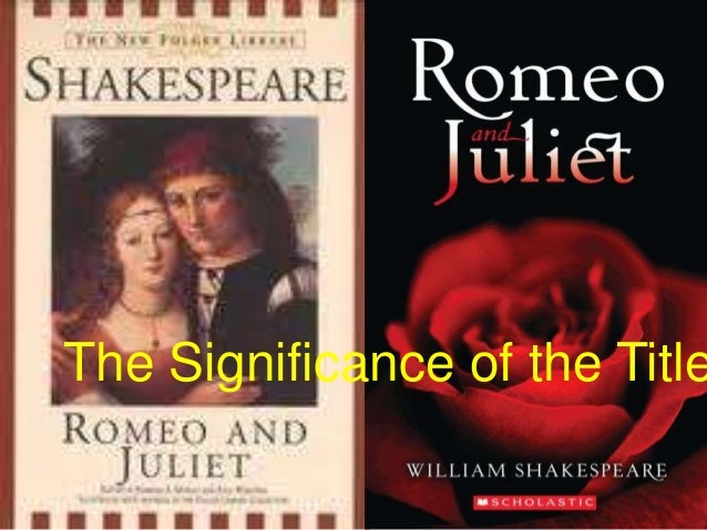 an analysis of romeo and juliet an engaging play by william shakespeare I hope to accomplish this by employing engaging activities focus to the play as it was meant to be william shakespeare's romeo and juliet.
