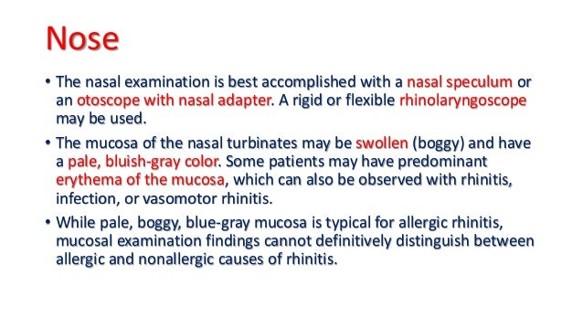 overuse of steroid nasal spray