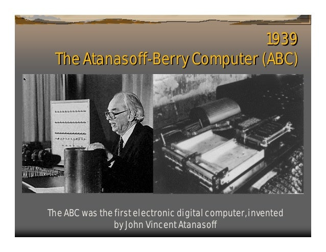1. history of computers