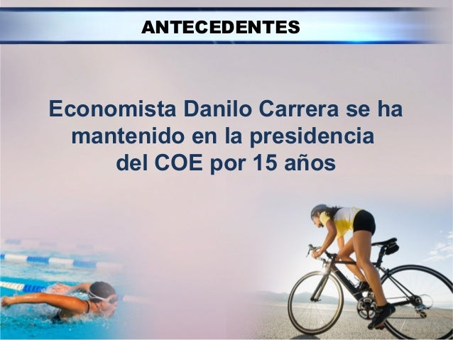 Enlace Ciudadano Nro 269 tema:  comité olímpico ecuatoriano Slide 2