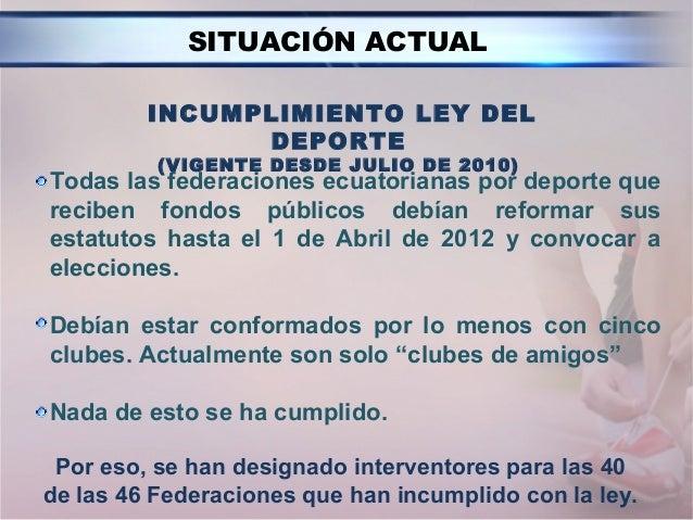 Enlace Ciudadano Nro 269 tema:  comité olímpico ecuatoriano Slide 3