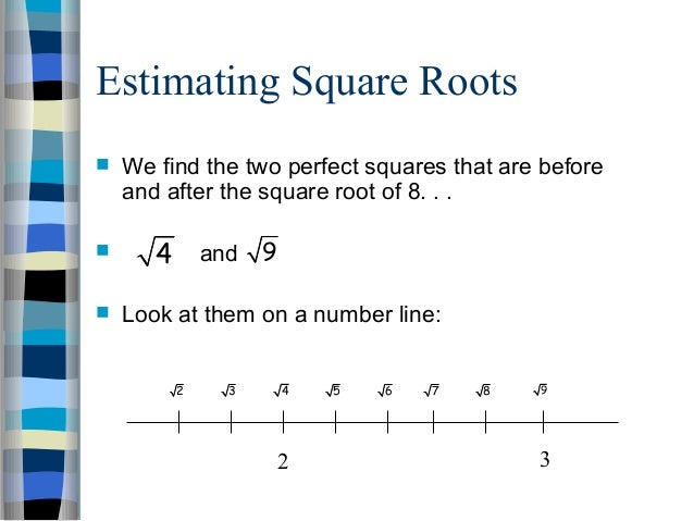 12 Irrational Numbers Ppt
