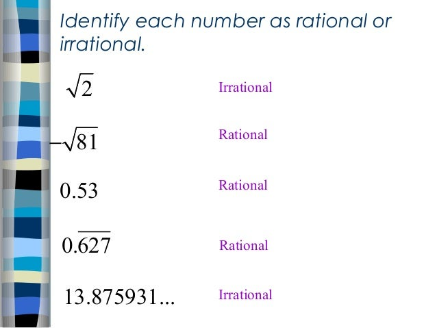 1.2 Irrational Numbers ppt