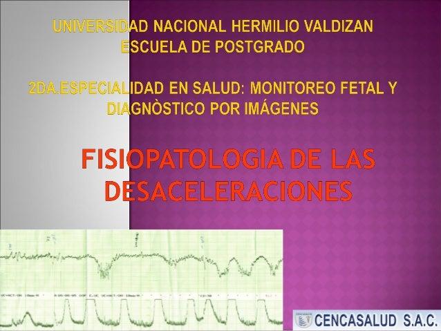 """Obst. Alicia Navarro Soto """" El Diagnóstico correcto del Bienestar Fetal y apropiado manejo pueden ser logrados sólo con un..."""