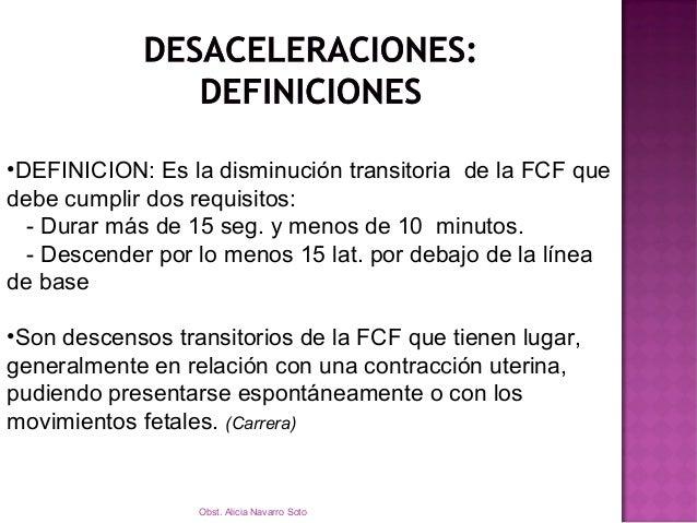  CALDEIRO BARCIA  DIP I  DIP II  DIP III  La Escuela de Montevideo las ha llamado Dips  HON  Desaceleraciones tempr...