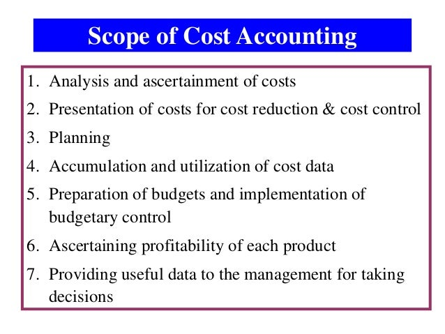 scope of management accounting Scope creep is one of the most prevalent causes of project failure this paper examines the five most common causes of scope creep and suggests an approach that can.