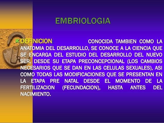 Embriologia, Herencia y Genetica