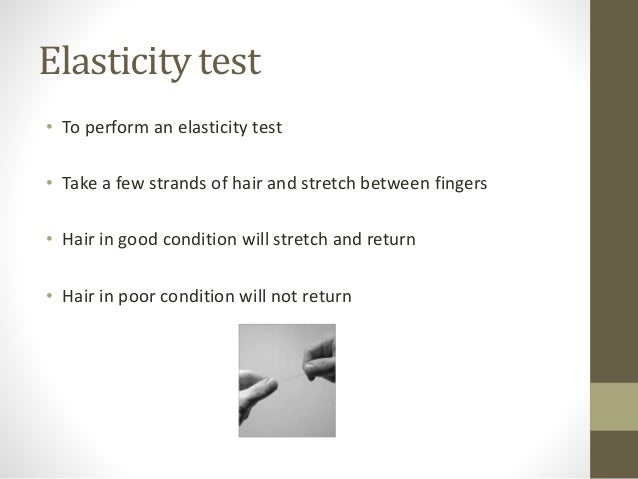 1 Tests And Testing For Colouring Hair