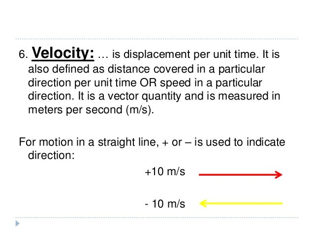 12 Form 3 Speed Velocity And Acceleration