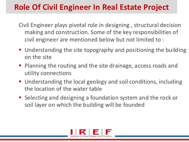 compelling project constraints 18 role of civil engineer - Duties Of A Civil Engineer