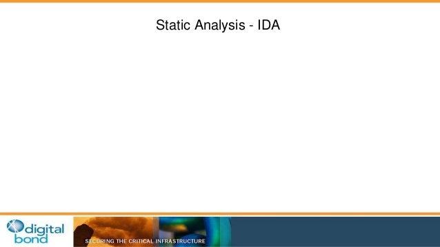 Static Analysis - IDA