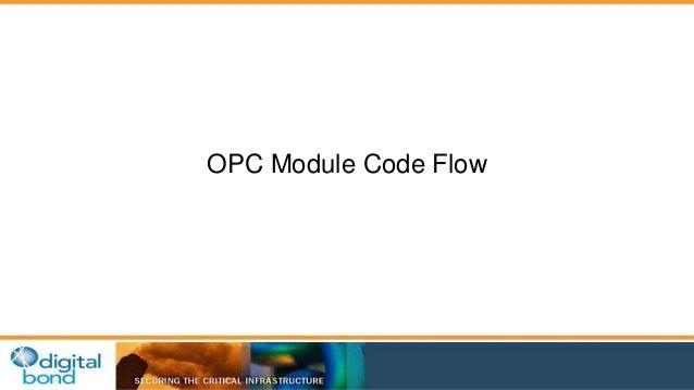 OPC Module Code Flow