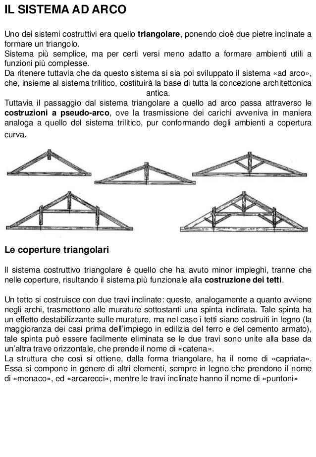 1 i sistemi costruttivi for Planimetrie della cabina ad arco