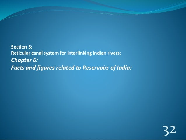 interlinking of rivers Named as national river linking project (nrlp) the concept of river interlinking  is the process of connecting two rivers by constructing artificial canal which.