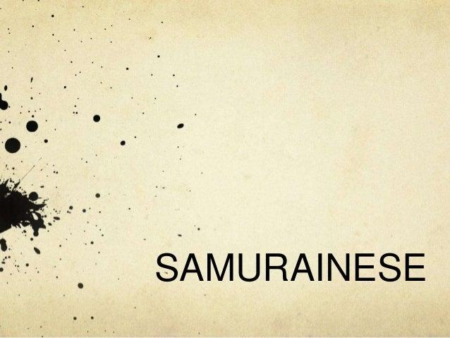 SAMURAINESE