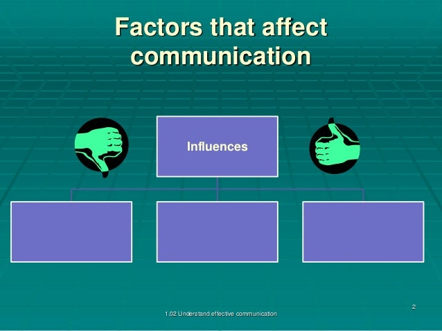 factors influence interpersonal communication 16072018  p3 explain factors that may influence communication and interpersonal interactions in health and social care environments.