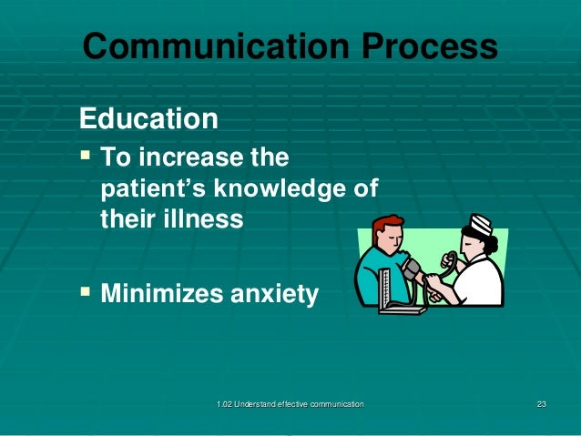 understand why effective communication Here are the top 10 communication skills that using phrases as simple as i understand where you are coming from demonstrate that you have been listening.