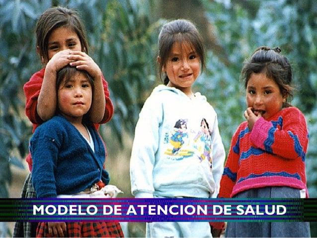 MODELO DE ATENCION DE SALUD