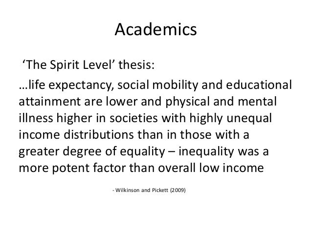 assess the degree to which inequalities It therefore, becomes pertinent to measure income inequalities various  measures  it measures inequality to the extent of comparing two distributions.