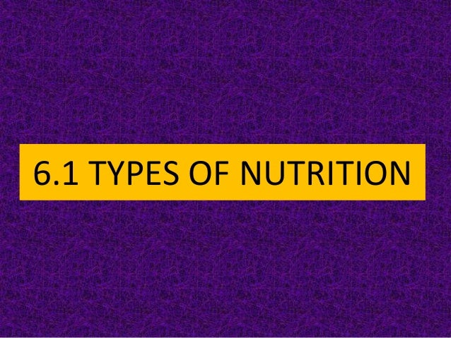 BIOLOGY FORM 4 CHAPTER 6 - NUTRITION PART 1