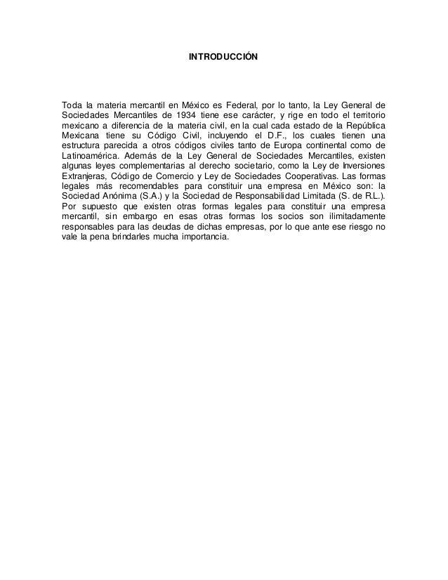 1.5 formas legales de las organizaciones mercantiles en mexico Slide 3