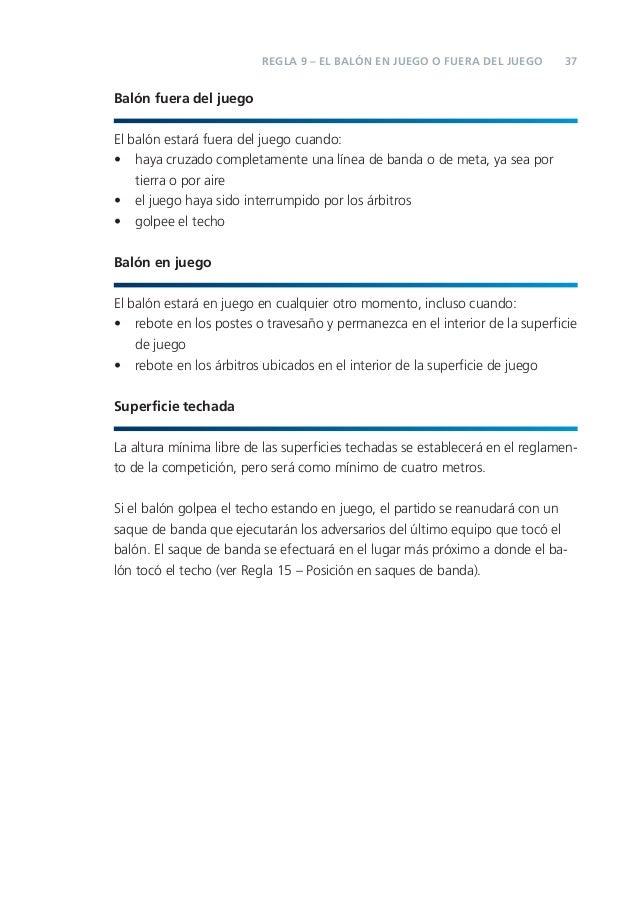 1 1 fifa reglas de juego 2012 13 for Regla del fuera de lugar