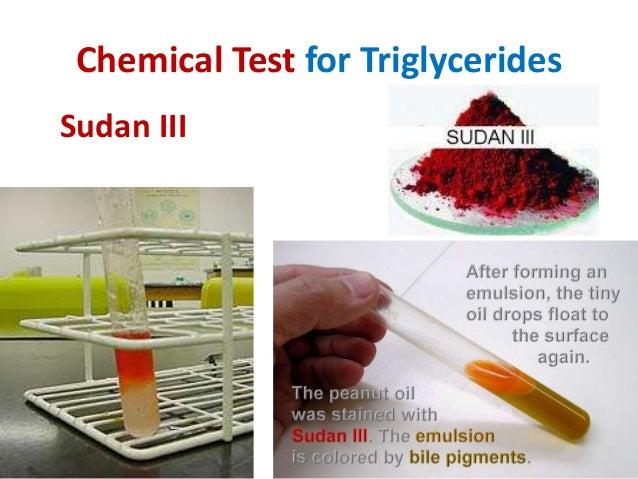 sudan iii test for lipids