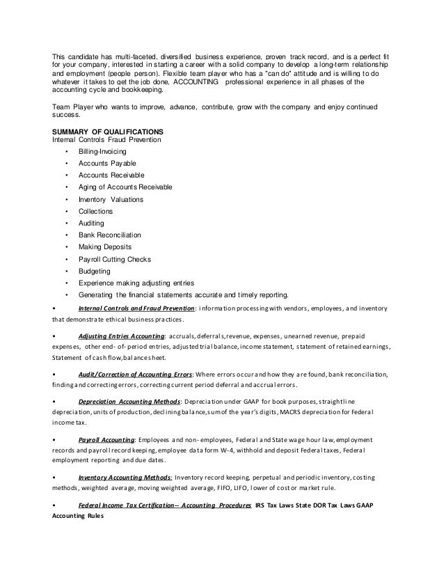 2 - Cover Letter To A Resume