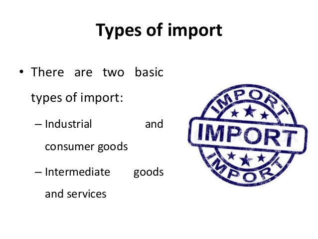 imports business
